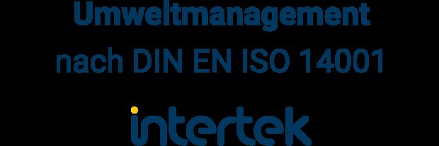 Zertifizierung Umweltmanagement Intertek